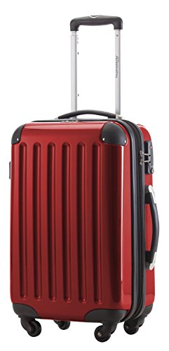 HAUPTSTADTKOFFER - Alex - Carry on luggage Suitcase Hardside Spinner Trolley Expandable 20¡° TSA Red