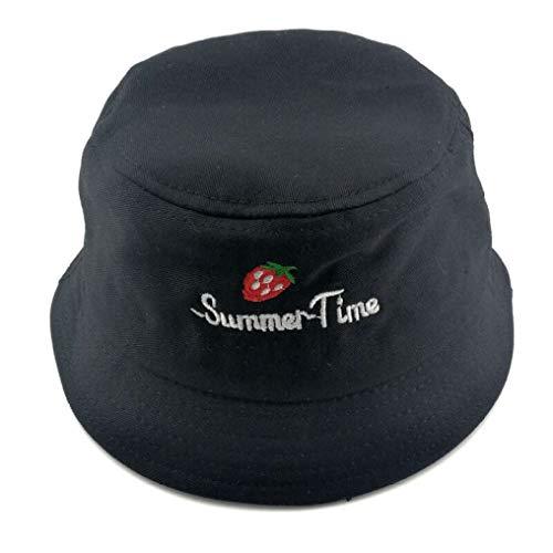 AROVON Kinder Eimer Hut Panama Unisex Kleinkinder Hut Sommer kleine Mädchen Sonnenhut Kind Strand Hut geeignet für draußen