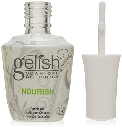 Gelish New Gel Nail Soak Cuticle Oil Soak Off Polish Skin Vitamin Solution, 15 ml