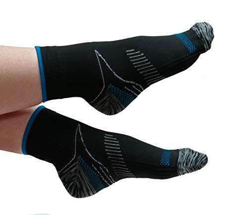 Or8 WellnessTM Compressie Sokken. Plantar Fasciitis Relief. Voetsteun voor heren en vrouwen. Boog steun. Enkelbeugel. Small/Medium (4-7)