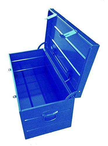 Arcón Metálico Industrial Extra Grande - 685x330x330 mm - Azul Eléctrico