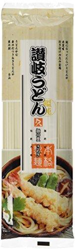Kubota Nudeln, getrocknet, breit (Sanuki Udon) (1 x 250 g Packung)