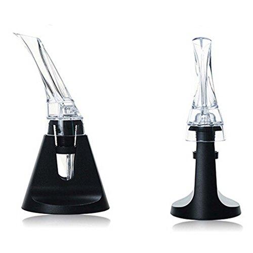 HuaYang Olecranon Shape Design Quick Aerating Red Wine Decanter Bottle Pourer Aerator