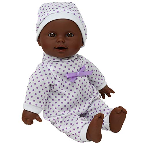 The New York Doll Collection Soft Body African American Newborn Baby Doll