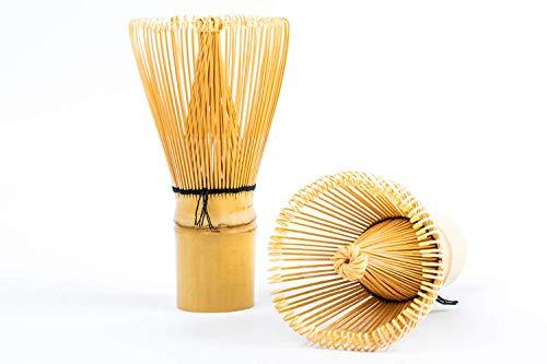 Batidor Chasen de bambú Tradicional de 100 Varillas té Matcha
