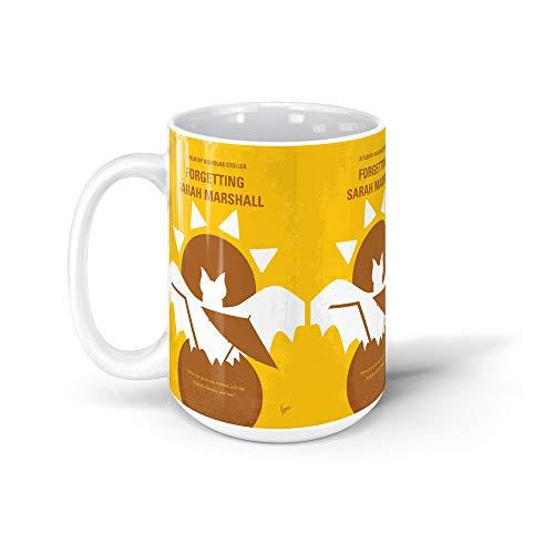 GARADO No394 My Forgetting Sarah Marshall minimal movie poster 15Oz Ceramic Coffee Mugs 58671