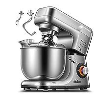 Kealive Küchenmaschine, Doppelten Knethaken &