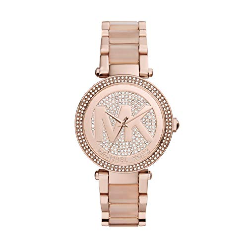 Michael Kors Women's Parker Two-Tone Watch MK6176