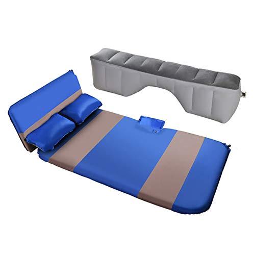 HIMNA PETTR Colchón Inflable automático para Dormir, colchón de Viaje Acolchado Inflable, Colchoneta de Camping portátil para Acampar con Estuche para SUV, Adecuado para Viajes de Campamento