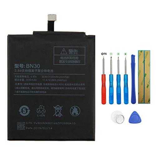 Swark Batería BN30 compatible con Xiaomi Redmi 4A con herramientas