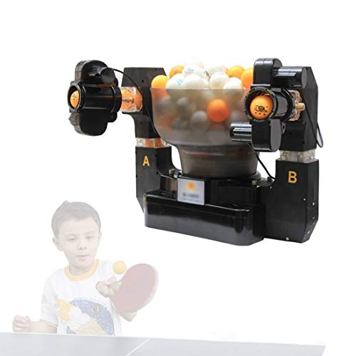 Buy Discount Stoge 2020 Ping Pong Robot with 36 Different Spin Balls Table Tennis Robots Automatic B...