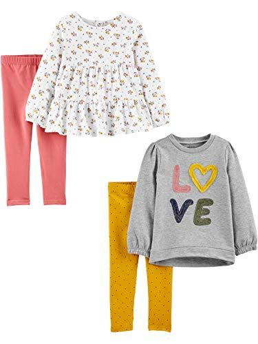 Simple Joys by Carter's Juego de 4 Piezas de Camisas y Pantalones...