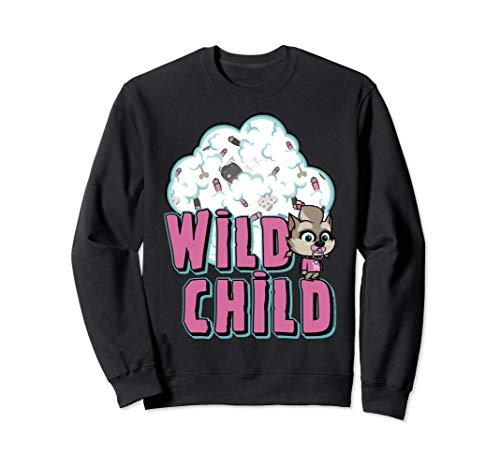Hotel Transylvania The Series Winnie Wild Child Poster Sweatshirt