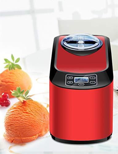 QWEAS Automatische Eismaschine, Automatische Frozen Yogurt Softeis Ice Cream Custard Sorbet Dessert Für Kinder Home Use