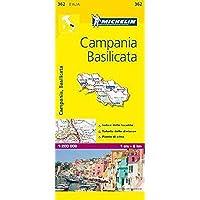 Michelin Map Italy: Campania Basilicata 362 (Maps/Local (Michelin)) (Italian Edition)【洋書】 [並行輸入品]