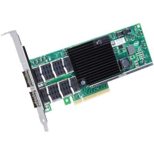 Intel reg; Ethernet Converged Network Adapter XL710-QDA2 - PCI Express 3.0 x8 - 2 Port(s) - Optical Fiber, Twinaxial - Retail