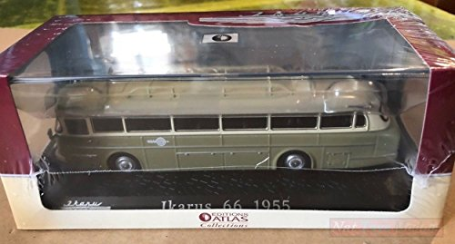 Atlas Ikarus 66 1955 Classic Coaches Bus Collection 1:72 Model DIE CAST kompatibel mit