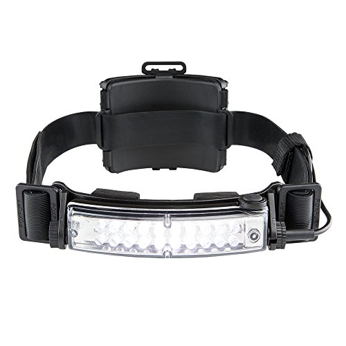FoxFury 420-T09R Command+ Tilt Fire and Impact Resistant Waterproof White LED Rechargeable Headlamp/Helmet Light, 100 Lumens