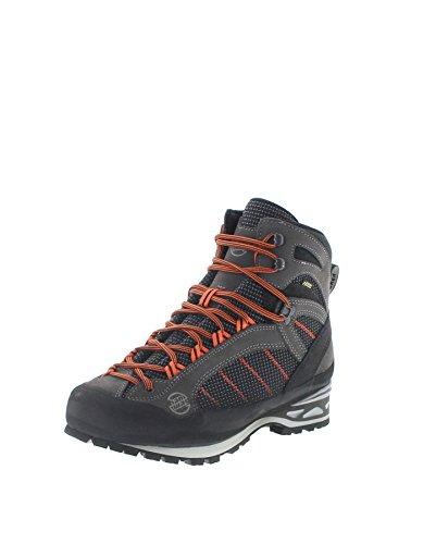 Hanwag Makra Combi GTX Shoes Herren Asphalt/orange Schuhgröße UK 9,5   EU 44 2019 Schuhe