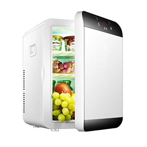 Mini refrigerador Nevera eléctrica Enfriador eléctrico y silencioso de 12L con temperatura...