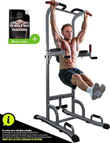 Photo de sportstech-chaise-romaine-musculation-7-en-1-pt300-barre