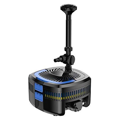 SunSun CUF-3800 Filter UV Springbrunnen 3800l/h Förderhöhe 2,8m, 11W UVC-Lampe