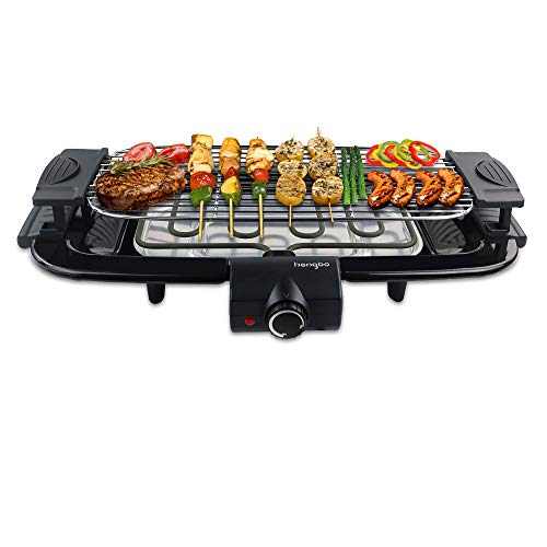 HengBO Barbecue Electrique de Table,...