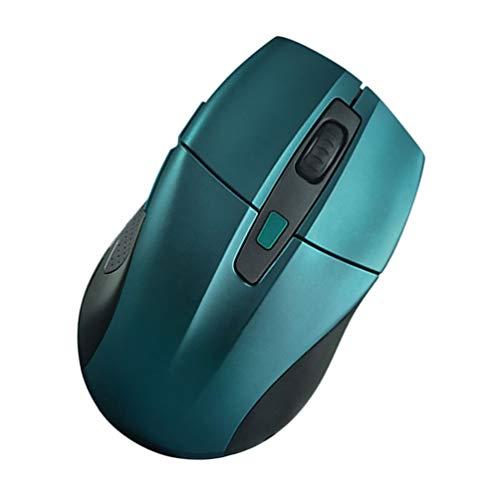 SOLUSTRE Ratón Inalámbrico USB Ratón Silencioso Superficie Suave Ratón Portátil Ratón Inalámbrico Portátil Ratón para Viajes a Casa Oficina