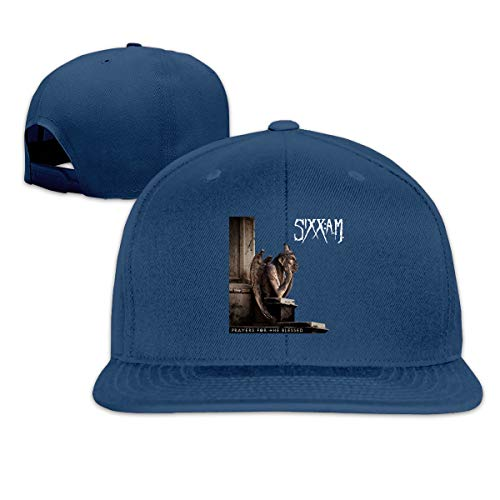 Sixx Am Prayers for The Damned Women Man's Hat Adjustable Fashion Caps Navy