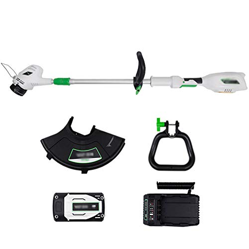 Best Prices! Zzmop Electric String Trimmer with Auto Feed 40V Lithium Battery Portable Garden Prunin...