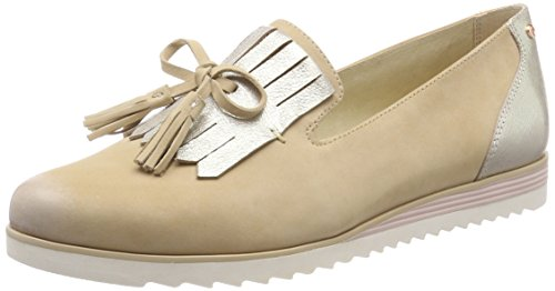 Be Natural Damen 24742 Slipper, beige (sand), 39 EU