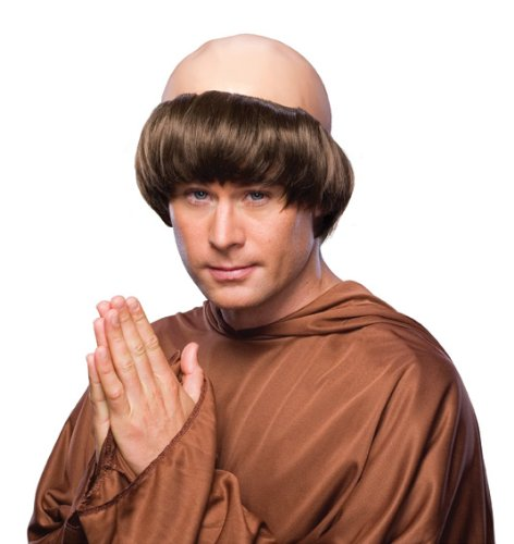Rubie's mens Monk Party Supplies, Brown, One Size US