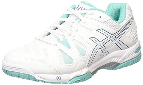 ASICS Gel-Game 5, Zapatillas de Tenis para Mujer, Blanco...