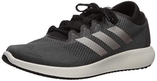 adidas Women's Edge Flex Running Shoe, Grey/tech Silver Metallic/Black, 8.5 M US