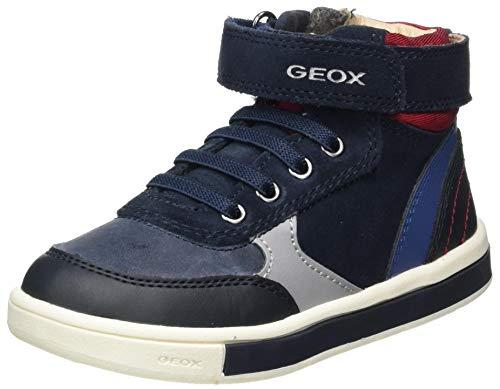 Geox Baby-Jungen B TROTTOLA Boy D Sneaker, (Navy/Red), 23 EU