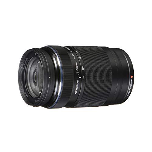 Olympus M.Zuiko 75-300 mm f/4. 8-6.7 MSC ED II Digital-Zoom-Objektiv (schwarz)