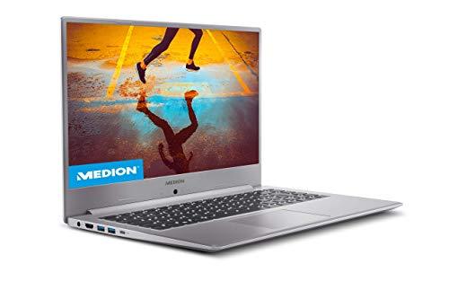 Medion Akoya S15449 - Ordenador portátil de 15.6 FullHD (Intel Core i5-1135G7, 8GB de RAM, 512GB SSD, Intel Iris Xe Graphics, sin Sistema Operativo) - Teclado Qwerty Español
