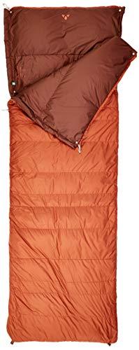 VAUDE Schlafsack Kamor 700 DWN, warmer Daunenschlafsack mit 700g Füllung, mit zweiten Schlafsack koppelbar, chestnut, one Size, 129645910010