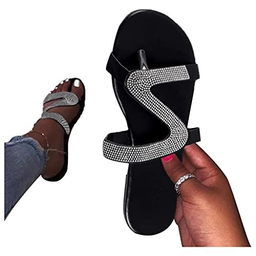 AOKASII Sandals for Women Dressy,Women's 2021 Comfy Platform Casual Sandal Shoes Summer Beach Travel Slipper Flip Flops
