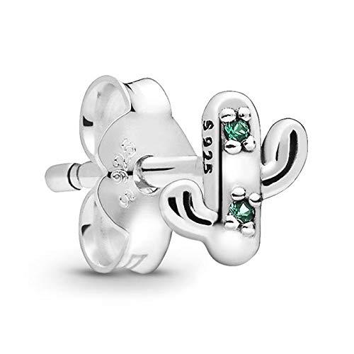 Pandora Pendientes de botón Plata esterlina No aplicable - 298370NRG