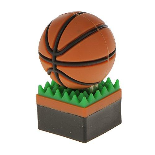 B Blesiya 8GB USB 2.0 Flash Memory Stick Forma de Bola Unidad de Almacenamiento U Disco de Velocidad - Baloncesto
