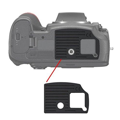 Replacement Camera Power Back Cover Bottom Rubber Cover Cap For Nikon D800 D810 D800E Camera Terminal Cover Rubber Cap Lid (D810)