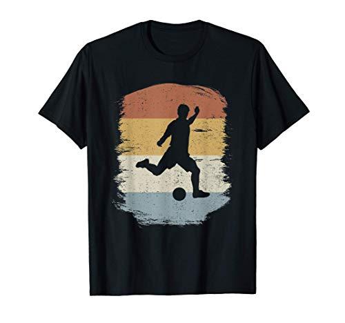 Camiseta De Fútbol Retro - Jugador De Fútbol Antiguo Camiseta