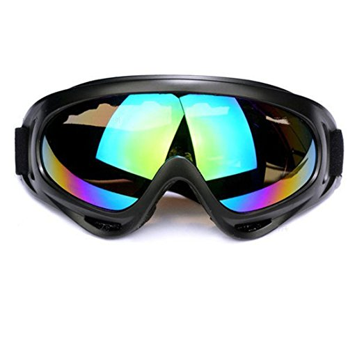 Ski Goggles For Snowmobile Snowboarding, Safety, Skate, Skiing Gears, Cycling And 2017 Other Motor Sports- Superior Protective Snow Glasses With UV Protection- 100% Eyesight, Anti-Fog & Scratch-Proof
