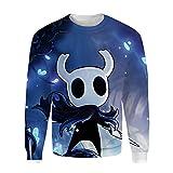 MENTOILA Hollow Knight Pullover Sudadera Suave y Grueso suéter del algodón de Moda suéter Ligero Sudaderas Unisex (Color : A05, Size : XXL)