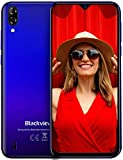 Blackview A60 Teléfono Móvil 16GB ROM (128GB SD), Pantalla 6.1' (19.2:9) Water-Drop Screen Movil, 13MP+2MP+5MP, 4080mAh Batería, Android...