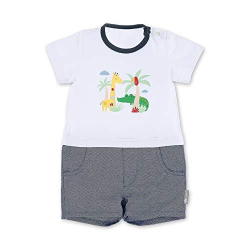 Sterntaler Baby-Jungen Safari Spieler, Weiß (Weiss 500), 3-6 Monate (Herstellergröße: 68)