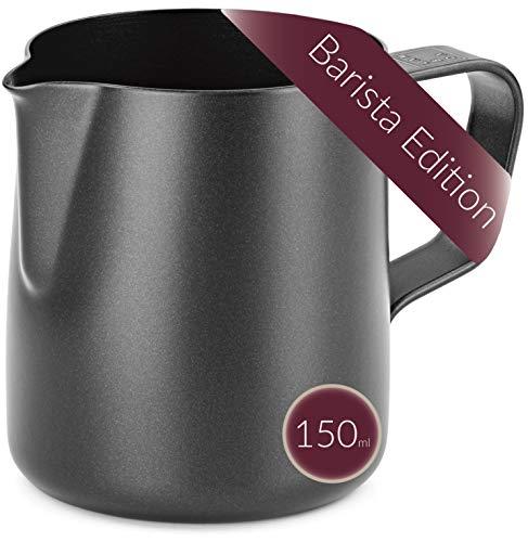 Lambda Coffee® Barista - Jarra de café (acero inoxidable, 150 ml)