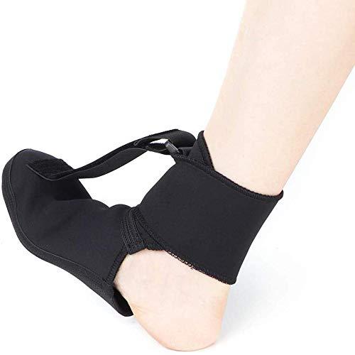 HWJL Fasciite Plantaire Weiche Nacht Socke Dehnen Splint Stiefel für Nachtzeit Relief Schlafen und Ruhen Achilles Entzündung Fersensporn,S