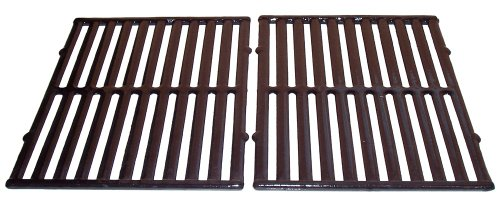 Porcelain Coated Cast Iron Rectangular Cooking Grid Set for Vermont Castings, ProChef, Ellipse and Kenmore Grills